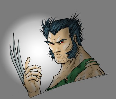Wolverine dessin redec colo moi mes dessins - Wolverine dessin ...