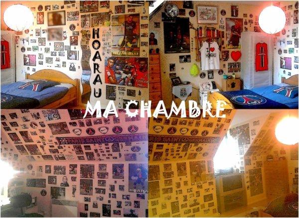 Ma chambre tout simplement.