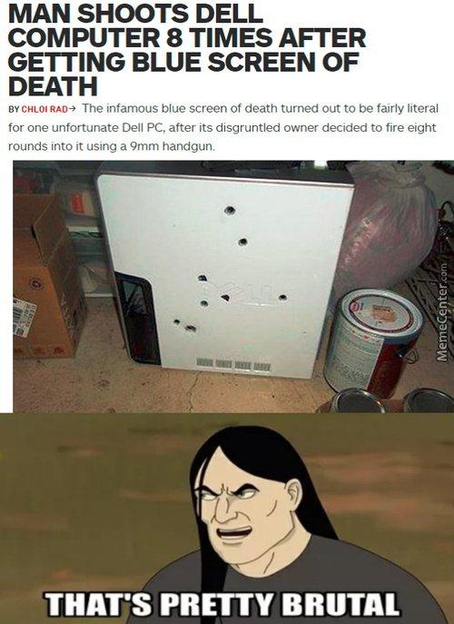 Brutal... lol