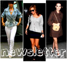 Découvre leur Style ; Newsletter