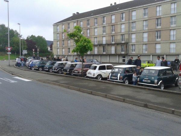 sortie mini austin 19 mai 2013 à Mayenne