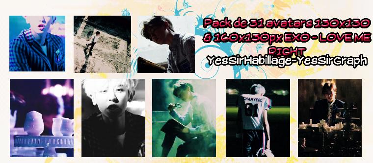 Pack avatars EXO - Love me Right