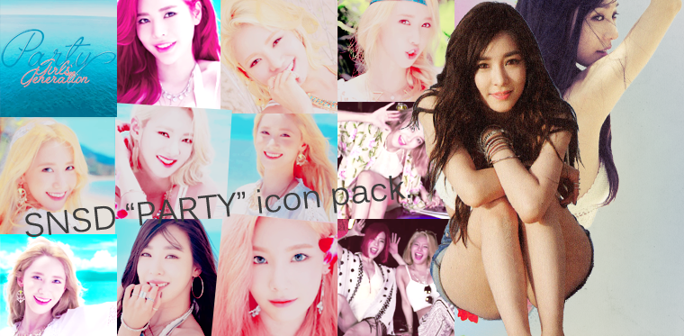 Pack avatars - SNSD PARTY