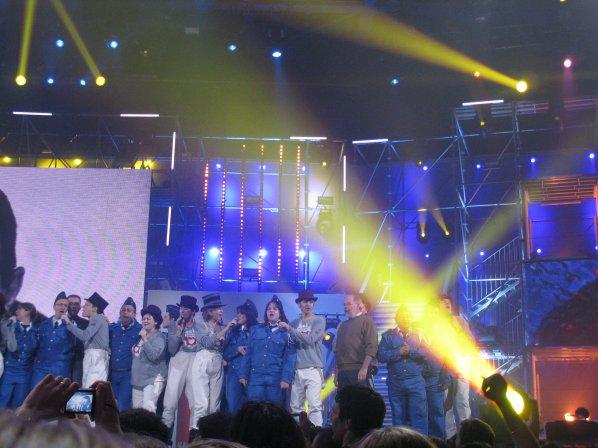 Petit souvenir du concert des Enfoirés à NICE 2010