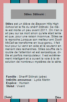 ◆Stiles Alias Dylan ◆◆Création◆◆Création◆◆◆◆Décoration◆