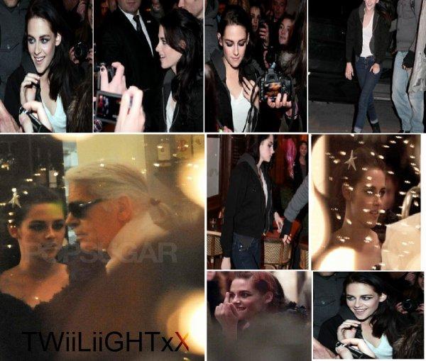 Kristen Stewart a Paris
