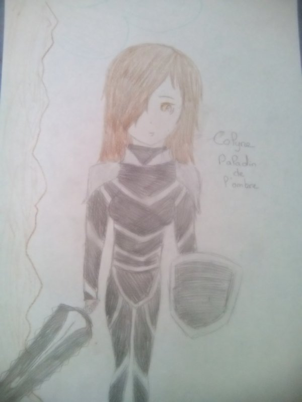 Fiche personnage : Colyne