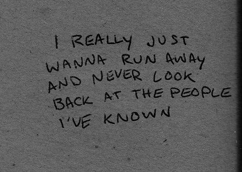 Run away !