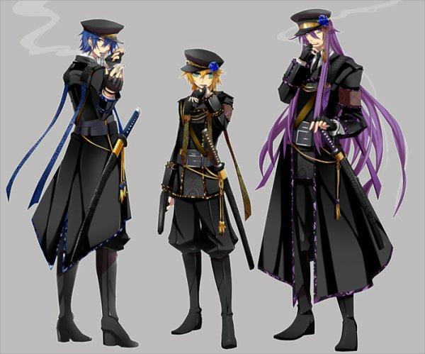 Kaito, Kagamine Len & Kamui Gakupo - Arrest Rose