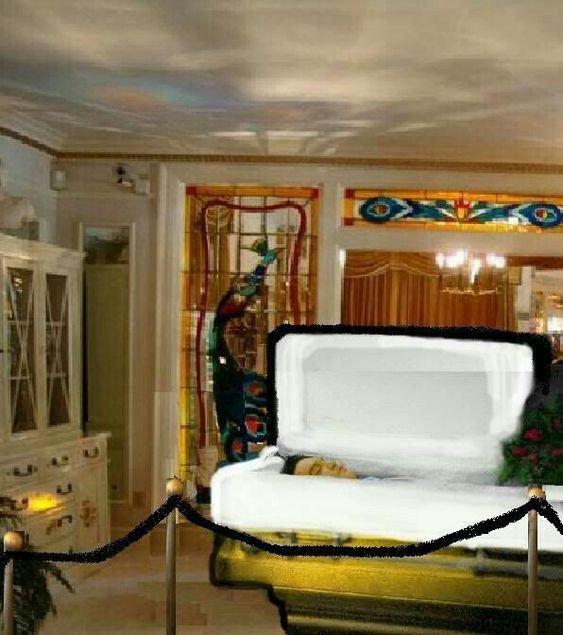 coffin Elvis