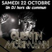Quentin Mosimann  AKA john louly dj  aux platines du Dancefloor