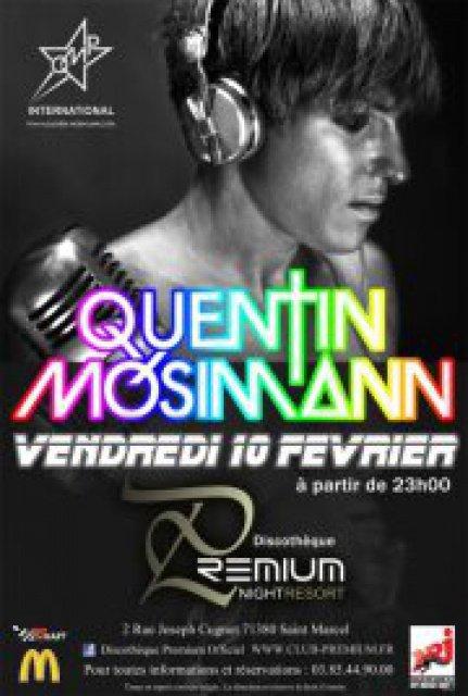 QUENTIN MOSIMANN AKA JOHN LOULY DJ  EVENEMENT LE 10 FEVRIER 2012