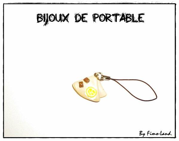 Bijoux de portable Crèpe✔