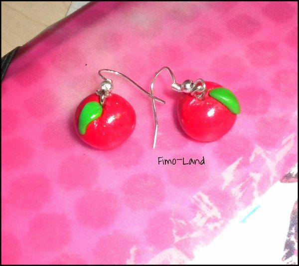 Boucles d'oreilles Nectarine ✔