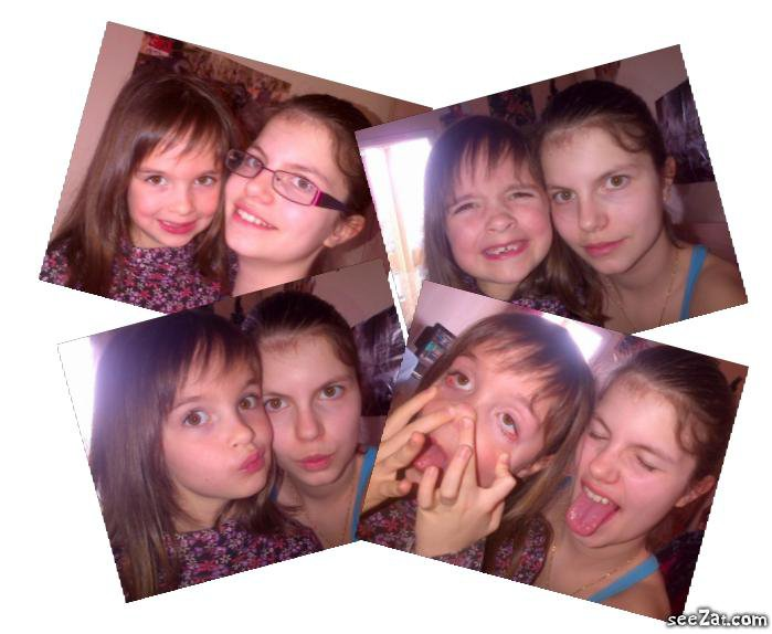 Mes montage !! de moi et ma nenette d'amour <3