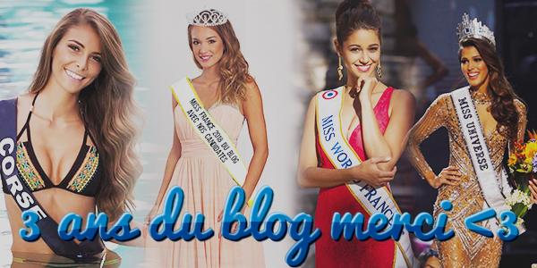 Anniversaire du blog ♥