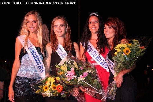 Elections qualificative pour Miss Languedoc-Roussillon 2016 pour Miss France 2017