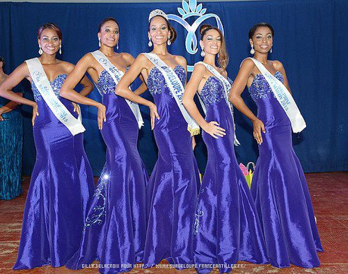 Miss Guadeloupe & Îles du Nord 2015