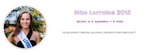 Miss Lorraine 2015