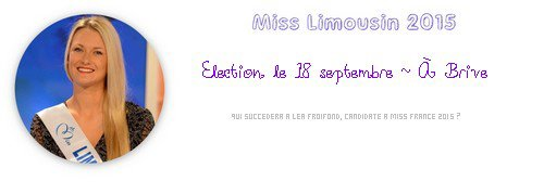 Miss Limousin 2015