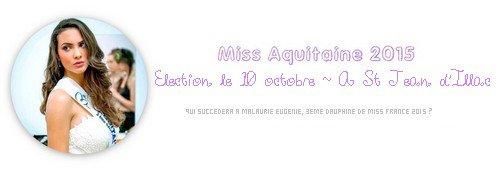 Miss Aquitaine 2015