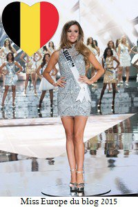 Miss Europe du blog 2015: Résultats