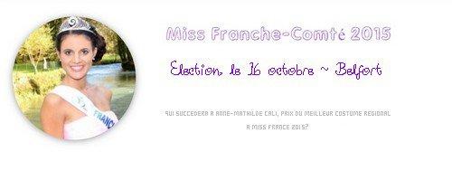 Miss Franche Comté 2015