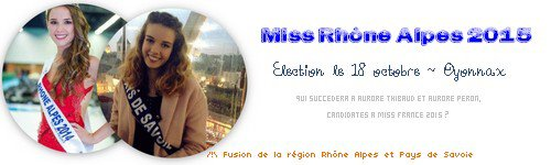 Miss Rhône Alpes 2015