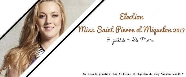 Miss Saint Pierre et Miquelon 2017