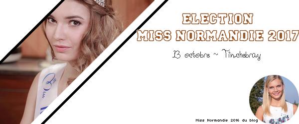Miss Normandie 2017