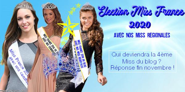 👑 Election Miss France 2020 avec nos Miss Régionales 👑