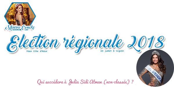 Election Miss Côte d'Azur 2018