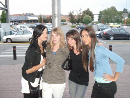 ♥ Sarah, Alisson, Mégane & Moi ♥