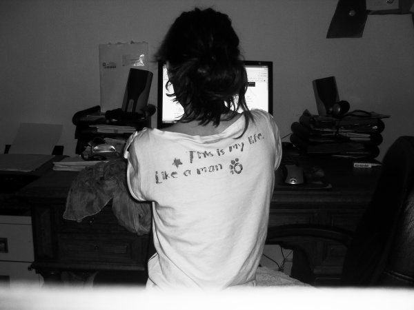 Je suis une gamine.                                                 ♫
