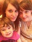 Emeline ,Elodie,mes secondes filles et Leyna,ma petite fille ,la seconde partie de la plus belle chose qui me soit arrivé !