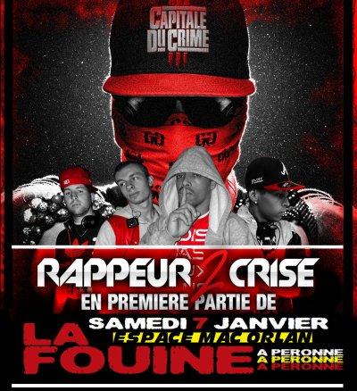 """LA FOUINE A PERONNE """"ESPACE MAC ORLAN"""" SAMEDI 7 JANVIER 2012"""