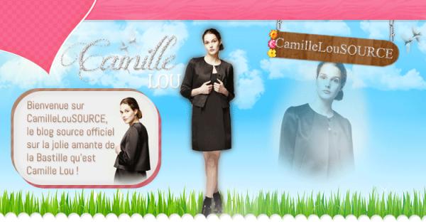 Premier Blog Source sur Camille Lou