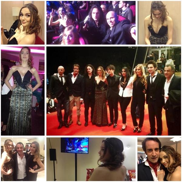 NRJ Music Awards 2013 ; sur le tapis rouge, en coulisses, sur scène...