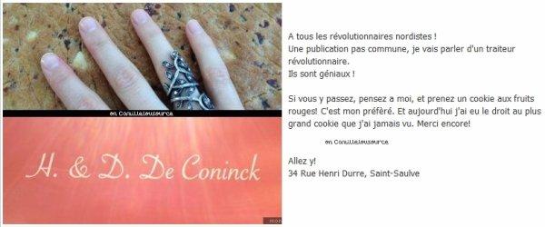 Les statuts Facebook de Camille, du 9 avril au 26 avril
