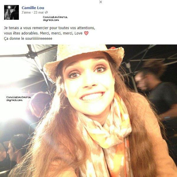 Statuts facebook de Camille le 19/23/28 Mai 2013