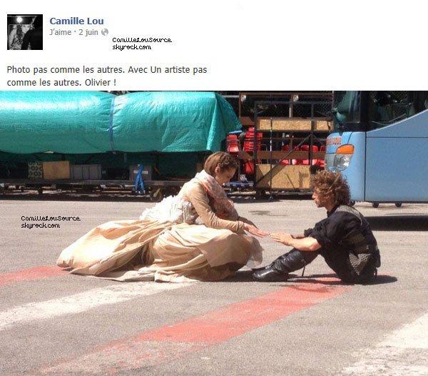 Statuts Facebook de Camille le 2/18/22/25 Juin 2013