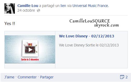 Nouveau projet musical pour Disney !