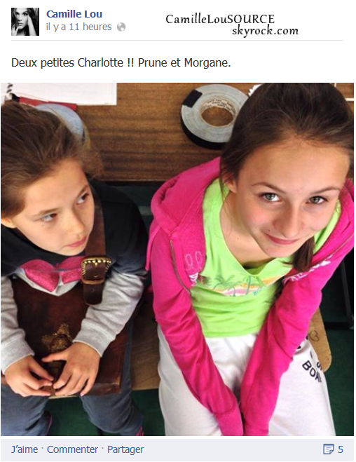 Petit statut du 30.10.2013 ; Bonjour les Charlotte !