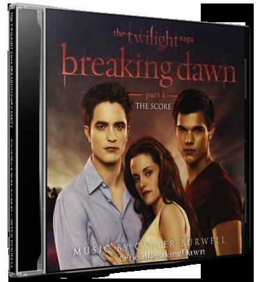 Breaking Dawn: Partie 1 - The Score est dans les bacs!