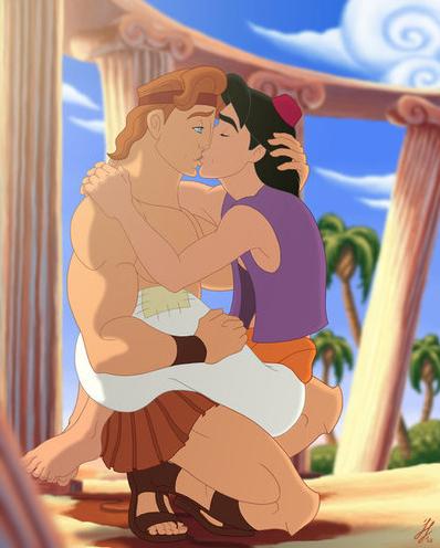 Aladdin et Hercule