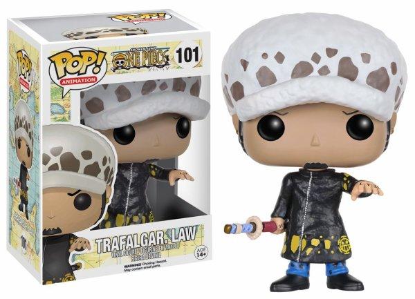 pop n°101 Figurine Trafalgar Law (One Piece)