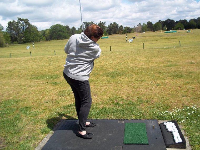 le golf !