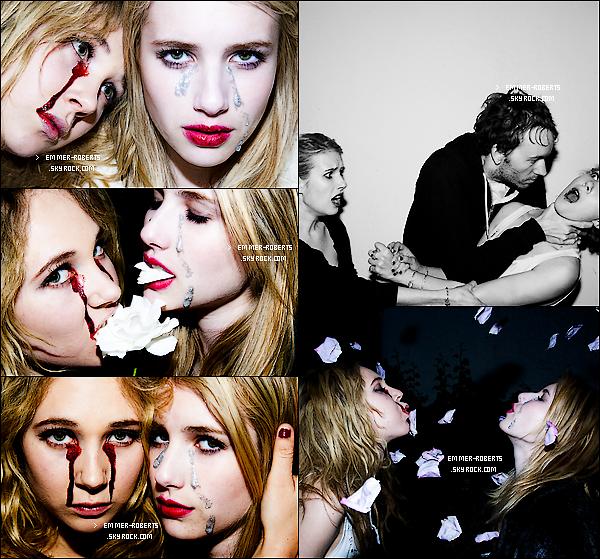 27/05/11 : La belle a été repéré en route pour un salon de manucure, au téléphone, à Beverly Hills. + Découvre un new Photoshoot d'Emma en compagnie de Juno Temple, de Tyler Shields.T'AIMES?
