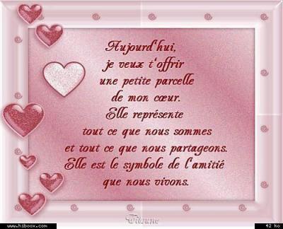 Un Petit Poeme Pour Vous Mes Amis Et Amies Avec Tout Mon