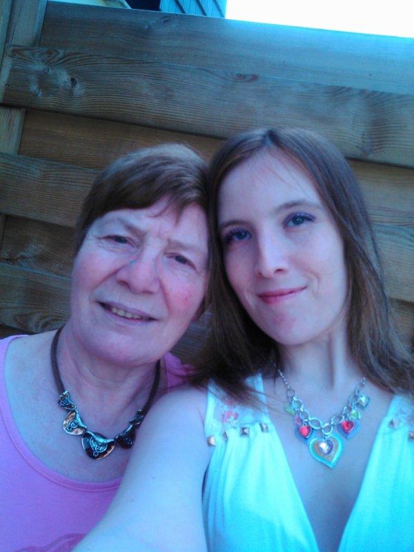 Ma fille et moi-même